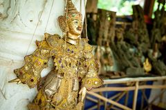String Puppet Burmese Royalty Free Stock Photos