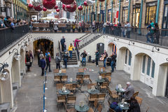 String quartet busking Covent Garden Royalty Free Stock Photo