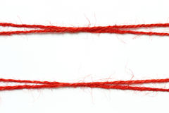 String red as frame Stock Photo