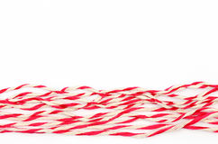 String red and white Royalty Free Stock Images
