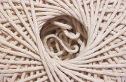 String texture centre in closeup Stock Images