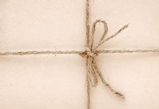 String tied in a bow Royalty Free Stock Photos