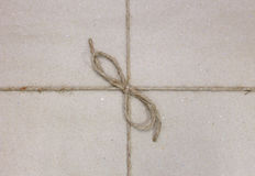 String tied in a bow Royalty Free Stock Images
