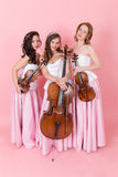 String trio portrait Stock Photos