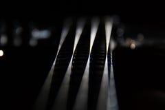 Stringa della chitarra Immagini Stock