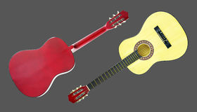 Stringed musical instrument guitar Stock Image