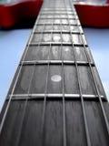 Stringhe della chitarra Immagini Stock