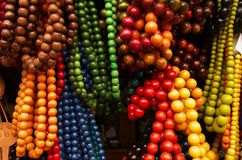 Strings of beads Stock Photos