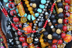 Strings of beads Royalty Free Stock Image