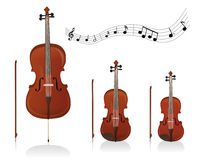 Strings family Royalty Free Stock Image