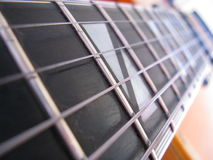 Strings and frets Stock Photos