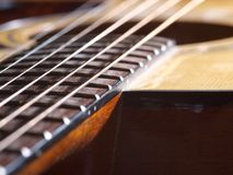 Strings guitar Royalty Free Stock Images