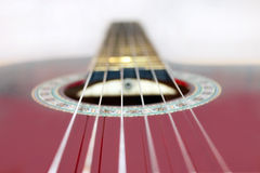 Strings on the guitar Stock Photos