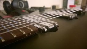 8 strings guitar Royalty Free Stock Photography