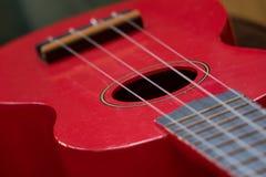 Strings of ukelele Stock Image