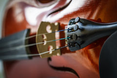 Strings Violin Royalty Free Stock Photography