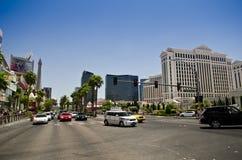 The strip. In Las Vegas, Nevada Stock Image