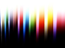 The Strip. Abstract image of color pillars with fade effect Royalty Free Stock Image