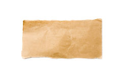 Strip of Brown Packaging Paper Royalty Free Stock Photos