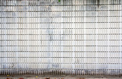 Strip cement block wall Stock Image