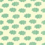 Strip clouds seamless pattern Stock Photos