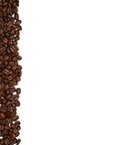 Strip of coffee beans Stock Photo
