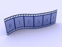 Strip film 2 Royalty Free Stock Image