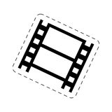 Strip film cinema movie image Stock Image