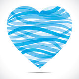 Strip heart Royalty Free Stock Images
