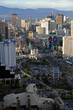 The strip of Las Vegas Stock Photography