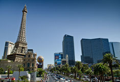 The strip of Las Vegas Stock Photo