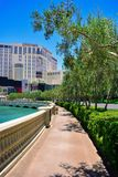 The strip in las vegas in summer day, Las Vegas Royalty Free Stock Photography