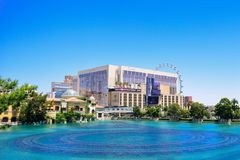 The Strip in Las vegas in summer day, Las Vegas Stock Photography
