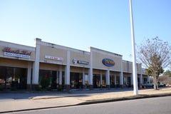 Cycle Gear and Strip Mall, Memphis, TN stock photos
