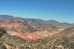 Strip mine in Arizona Stock Image