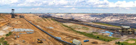Strip mining Stock Photography