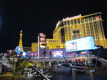 The Strip at night Royalty Free Stock Photography
