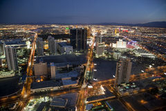 The Strip by Night Stock Image