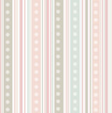 Strip pattern, pastel colors Stock Photography