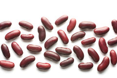 The strip of red beans Royalty Free Stock Photo