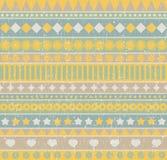 Strip seamless pattern. Stock Photography