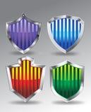 Strip Shield Vector royalty free illustration
