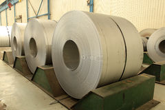 Strip steel Royalty Free Stock Images