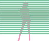 Strip tease Stock Image