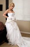 Strip-tease de mariée Photos libres de droits