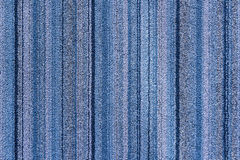The strip texture of the carpet in meeting room Royalty Free Stock Photography