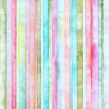 Strip watercolor painted background. Abstract  strip watercolor painted background Stock Photo