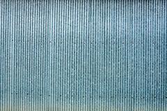 Strip zinc wall Stock Photos