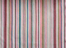 Stripe текстура ткани Стоковое Фото