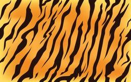 Stripe animals jungle tiger fur texture pattern seamless repeating orange yellow black. Print royalty free illustration